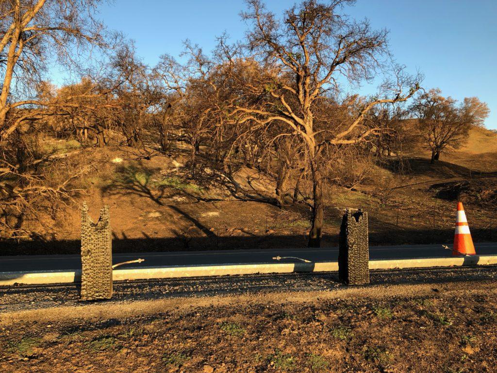 Burned Guard Rail