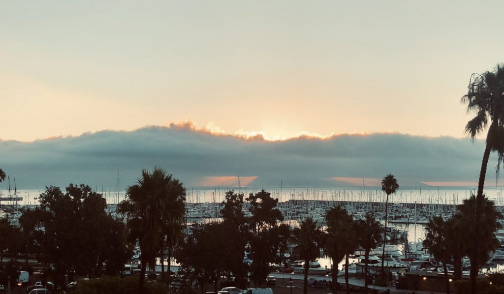 Sunrise in Santa Barbara